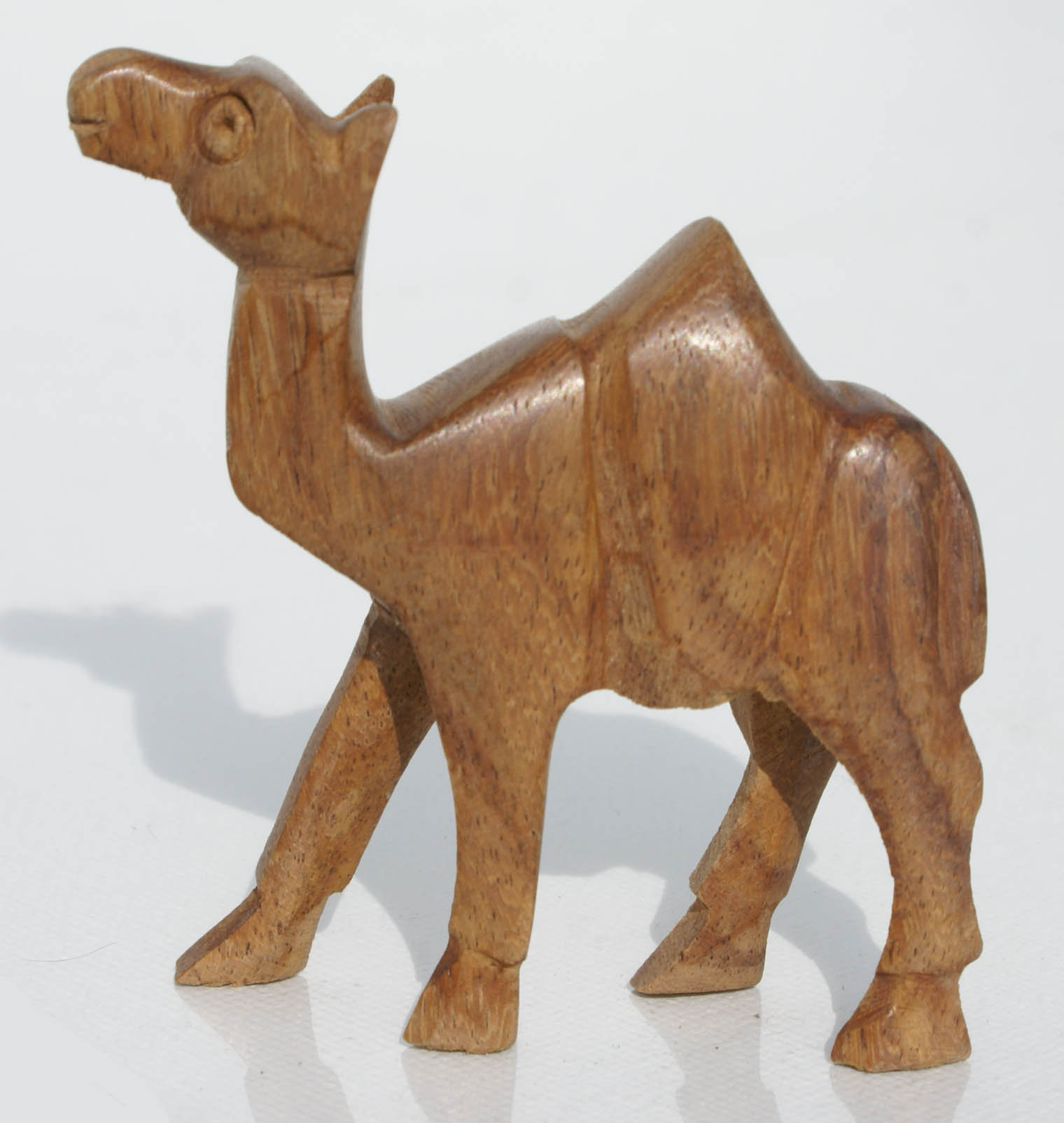 Wooden Camel Statue Handcrafted in Egypt Wood Carving Miniature Animal  Figurines Crafts