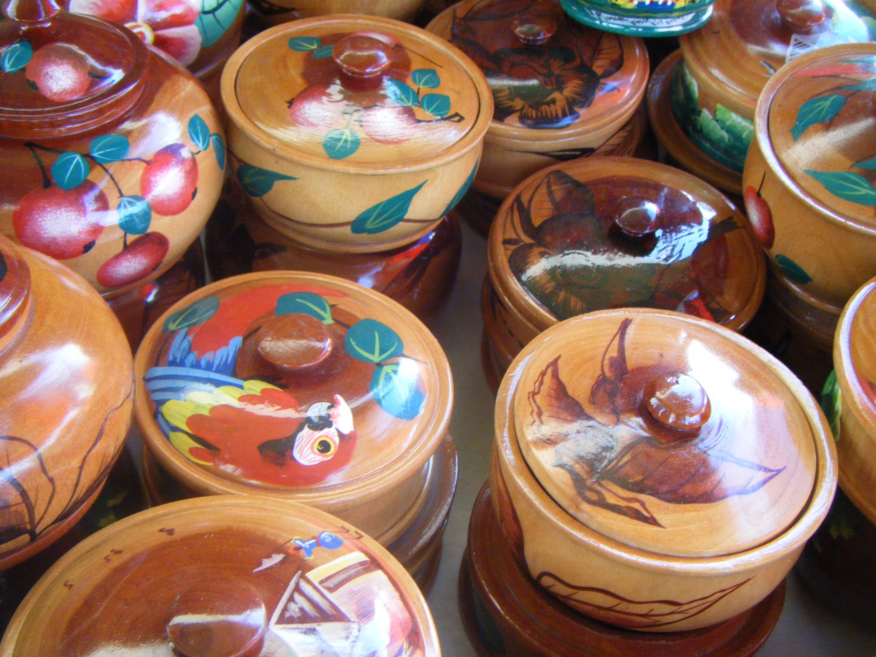 Wooden bowls handmade in haiti home crafts for sale 12 for Homemade crafts for sale
